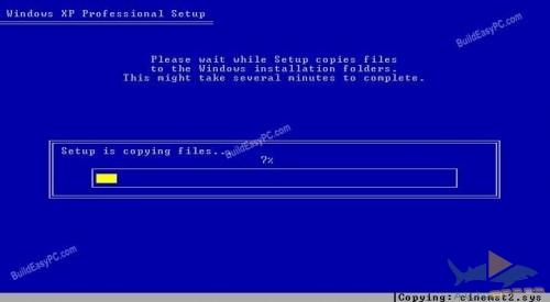 Windows начнёт форматировать диск C