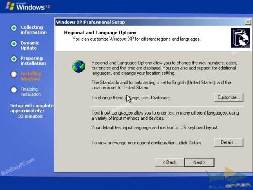 Выберите свой регион и язык.