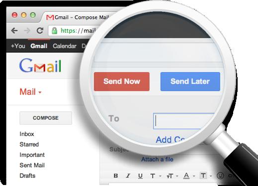Как искать письма в Gmail, не открывая свой почтовый ящик