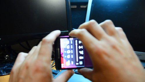 скриншо телефона